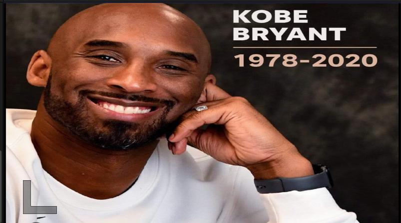 Kobe Bryant,la superstar du Basketball n'est plus.